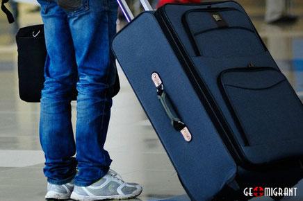 Пытавшуюся попасть в Турцию в чемодане Грузинку депортировали