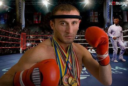 В Москве арестован мировой чемпион по кикбоксингу Ираклий Гвинджилия