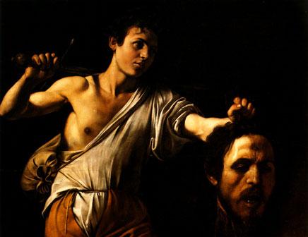 Le Caravage - David avec la tête de Goliath