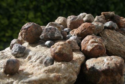 Ungeschliffene Granate