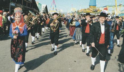 Volksfestumzug des 167. Canstatter Volksfestes