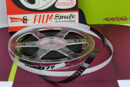 Normal8, Super8, 16mm und Pathé-Filme digitalisieren