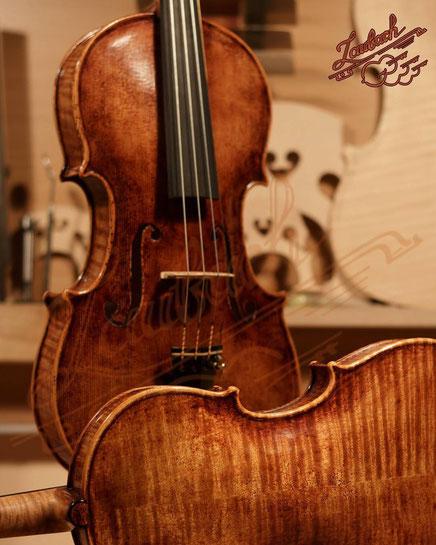 ラウバッハマスターヴァイオリンとヴィオラ