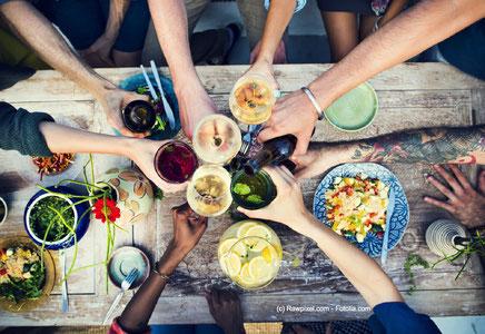 Gesunde Ernährung - die richtige Mischung macht's!