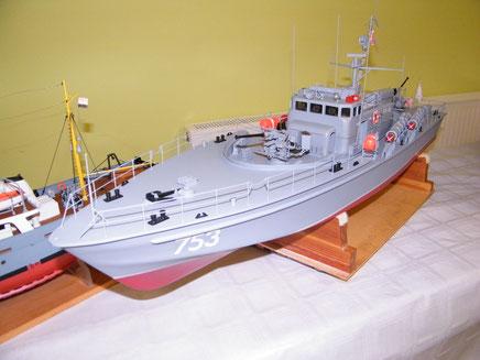 """Schiffsmodell """"PT-15"""" von Wolfgang Frisch aus Bad Salzungen"""