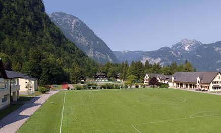 Football Trainingslager in den Bergen