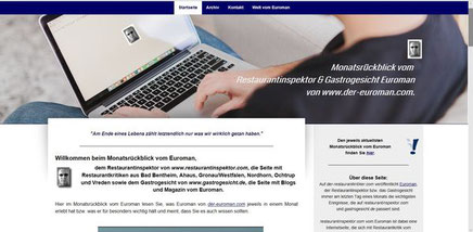 Neu gestaltet: www.der-restaurantkritiker.com