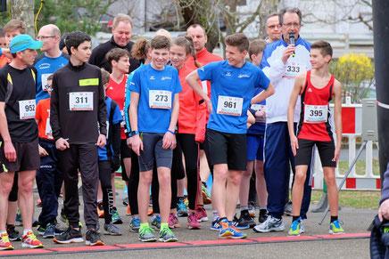 ...sind nicht nur läuferisch gut drauf..unsere schnellen Jungs Finn und Tim vorm Start ;-)