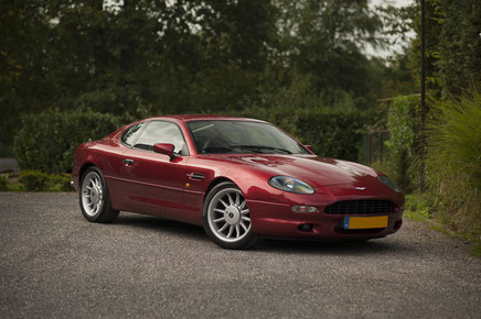 Aston Martin DB7 Coupé in Nuenen Nederland