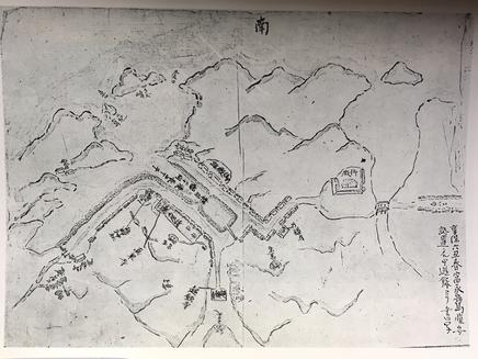 甲浦古地図(1721享保6年)
