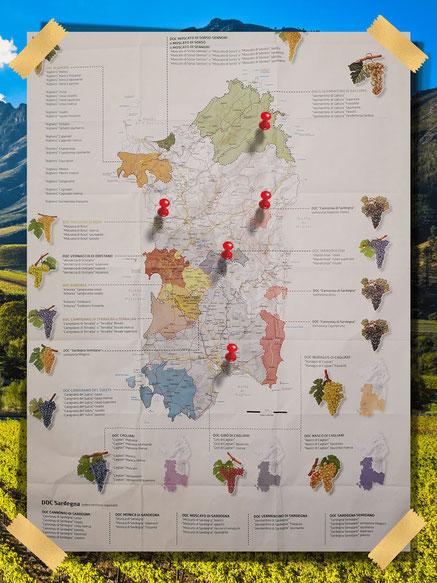 Wijnregio Sardinië