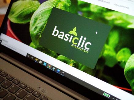 Création du site Basiclic