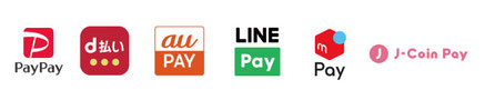 paypay,d払い,auPAY,LINEPay,meruPay,J-coinPay,ORIGAMIPay