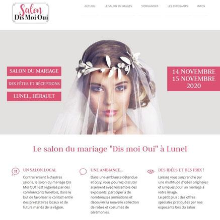 La cinquieme saison sera pésente au salon du mariage et des évènements de Lunel (hérault), les 14 et 15 novembre 2020.