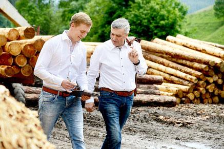 Vinzenz und Stefan Raith