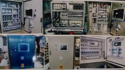 YDKテクノで制御盤製作配線を致しました 制御盤配線製作の写真集が見れます。