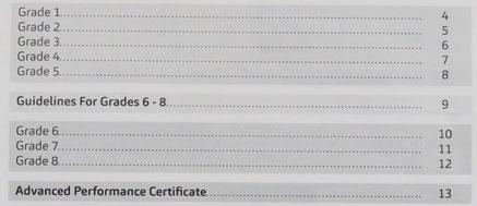 SCT Examは8段階のグレードがあります。