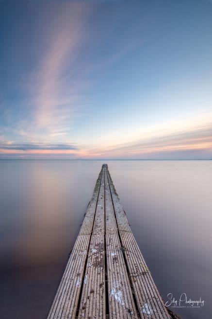 Pelzerhaken, Ostsee, alter Steg, Langzeitbelichtung, 2021, © Silly Photography