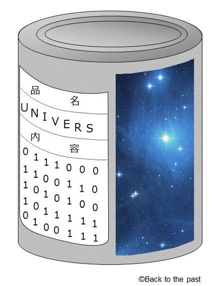 ホログラフィー宇宙缶