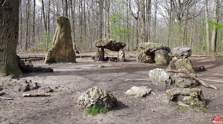 Le site de l'oratoire des missionnaires en forêt de Meudon en 2021.