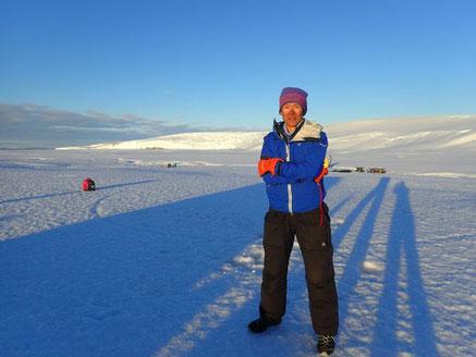 2017年度南極滞在中の村越