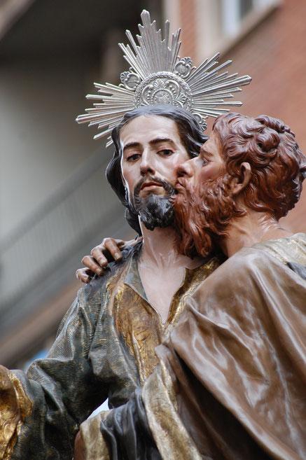 Joab stellt nicht Pontius Pilatus, sondern Judas Iskariot dar.