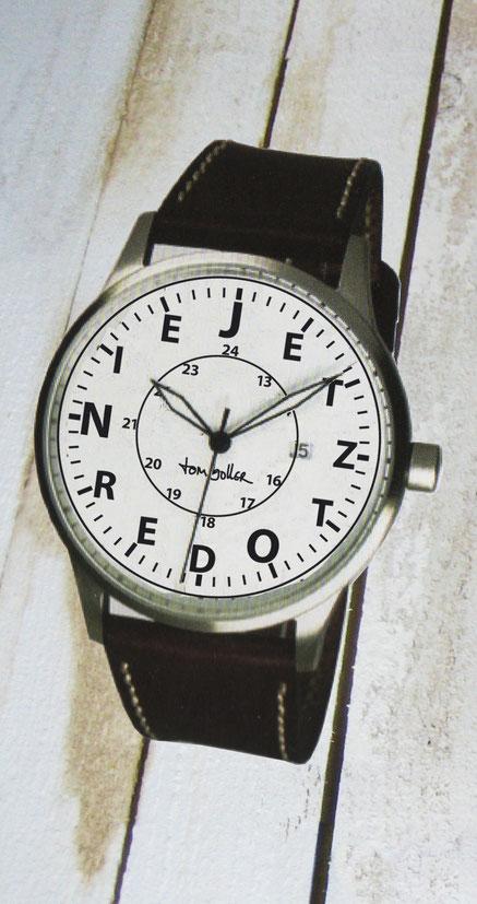 """""""Rund um die Uhr"""" Wandgestaltung von Tom Boller"""