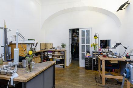 Atelier STOSSIMHIMMEL - Werkstatt