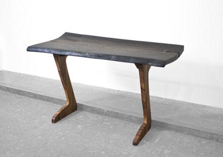 C1269 · Bog Oak, Curupay#desk#bench#stool#console#sculpture#woodworking#interiordesign#woodsculptures#art#woodart#wooddesign#decorativewood#originalartwork#modernwoodsculpture#joergpietschmann#oldwood