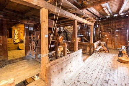 Mühle und Heuraum