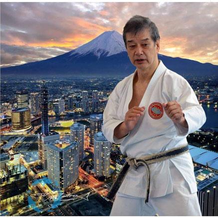 Hitoshi Kasuya, 9ème Dan, Directeur Technique WSKF