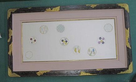 (19)  刺繍作品