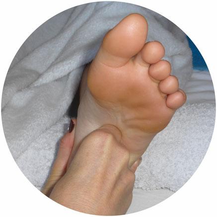 réflexologie plantaire, massage, bien-être, déroulement séance, pieds