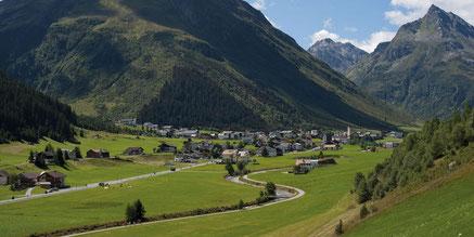 Galtür, das Dorf nach Ischgl