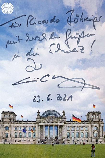 Autograph Christian Wulff Autogramm