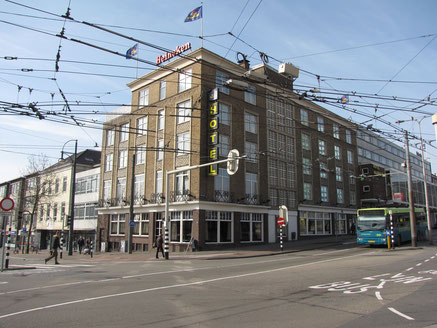 Hotel Haarhuis Stationsplein 1 Arnhem wederopbouw