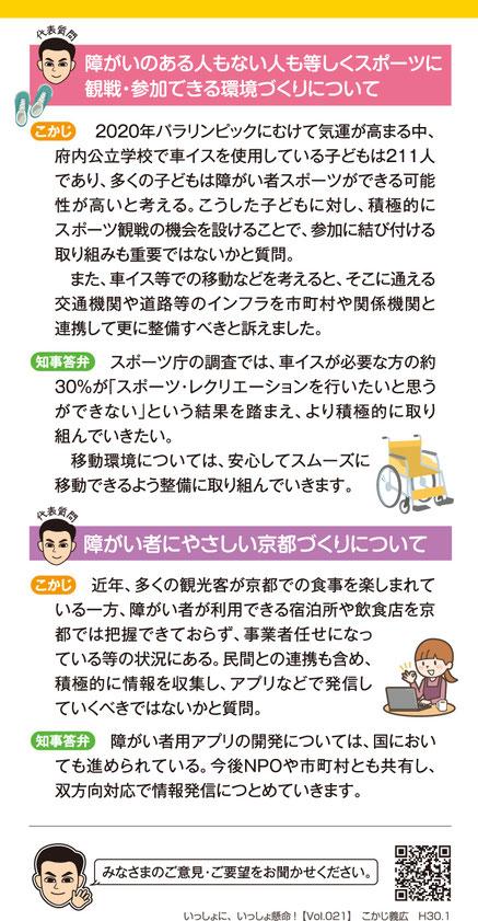 2018年 Vol.021/ハガキ・裏面