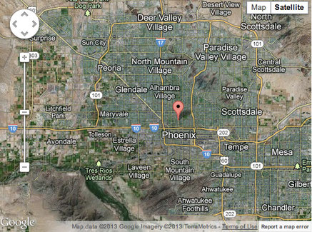 Metropolitan Phoenix, Arizona