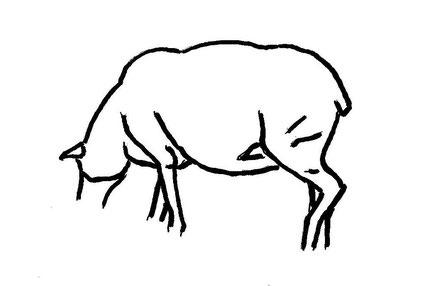 10-Minuten-Malerei: Kühles Schaf