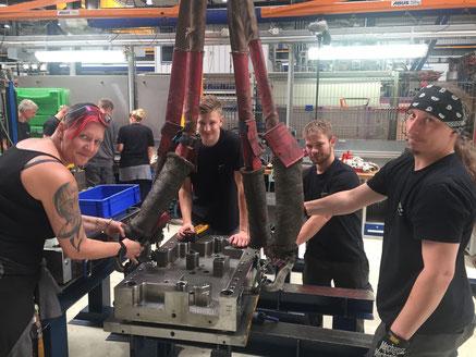 Mitarbeitertraining Produktion