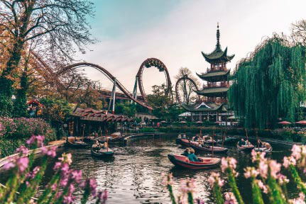 Copenhagen top things to do - Tivoli Gardens - Copyright  Fc Nikon