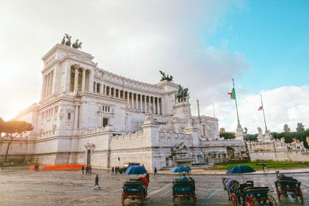 Vittoriano monument, Rome, Italy