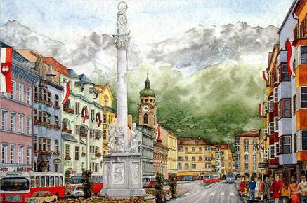 Top things to do in Innsbruck - Old town - Copyright erjkprunczyk