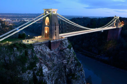 Bristol top things to do - Clifton bridge Bristol - Copyright Mike Knight