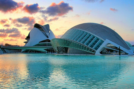 Valencia top things to do - City of Sciences - Copyright  O Palsson