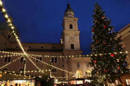 Salzburg top things to do - Christmas Market - Copyright  Holly Hayes