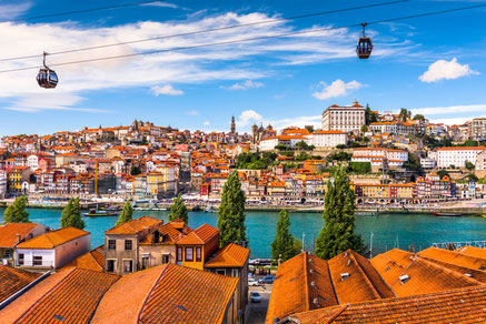Best things to to - Historical Center - Porto, Portugal old town on the Douro River. Copyright Sean Pavone
