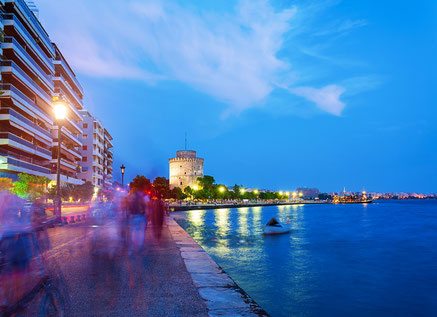 Thessaloniki city , Greece Port Copyright Anastasios71