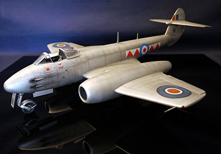 Gloster meteor F-4 1/32 HK