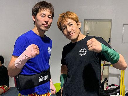 ストラッグル所属選手 中向永昌と代表 鈴木秀明